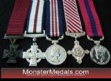 MINIATURE MILITARY GALLANTRY DECORATIONS & MEDALS